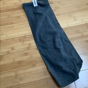Super soft gray old navy scarf